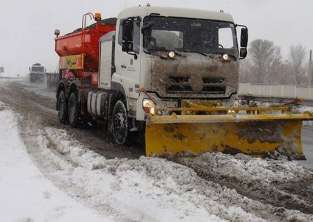 آماده باش راهداری البرز برای بارش های زمستانی