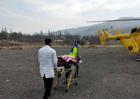 نجات جان دو بیمار قلبی توسط اورژانس هوایی البرز