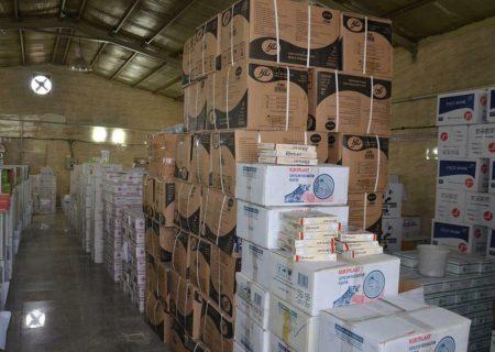 کشف انبار غیرمجاز محصولات بهداشتی در ماهدشت