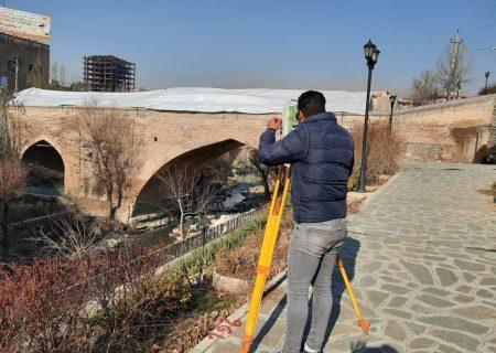 پایان نقشهبرداری و طراحی سازه نگهبان پل شاه عباسی کرج
