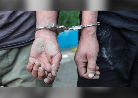 دستگیری اعضای باند حفاری غیرمجاز در طالقان