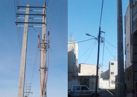 بهره برداری از پروژه تامین برق اراضی ۱۱۰ هکتاری اشتهارد