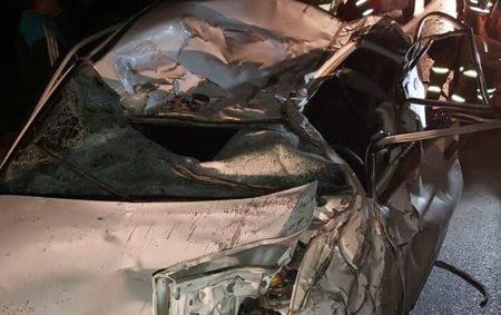 تصادف در جاده چالوس یک فوتی بر جای گذاشت