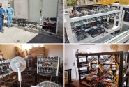 کشف ۳۲ دستگاه کارت گرافیک رمز ارز دیجیتال در کرج