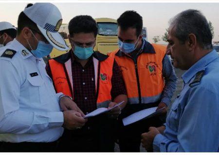 اجرای طرح مشترک کنترل و نظارت بر ناوگان حمل و نقل عمومی