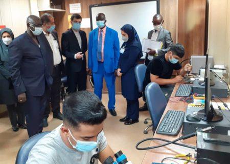 بازدید هیئت تخصصی فنی و حرفه ای نیجر از کارگاه های فنی و حرفه ای البرز