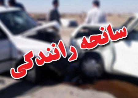 برخورد مرگبار دو خودرو در کرج