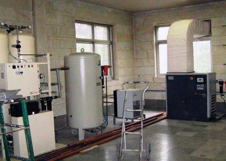 سه بیمارستان در استان البرز به دستگاه اکسیژن ساز مجهز شد