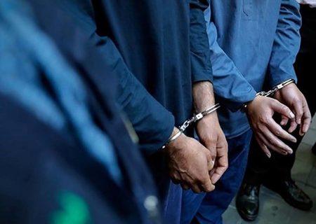 سارقان مسلح در چنگال پلیس البرز