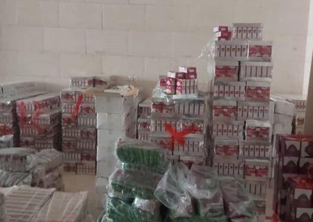 کشف انبار قاچاق و احتکار موادغذایی در کرج