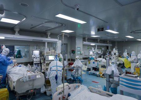 ۹۱۴ بیمار کرونایی در مراکز درمانی البرز بستری هستند