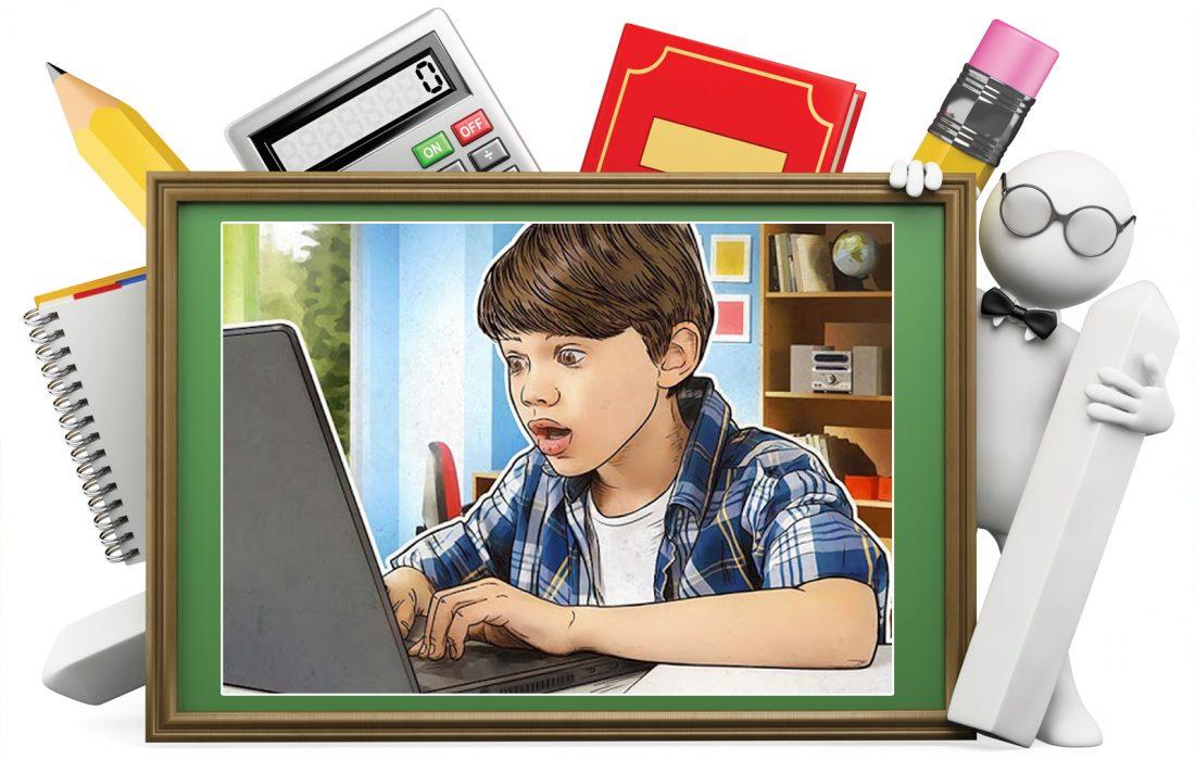 مراقب حضور دانش آموزان در فضای مجازی باشید