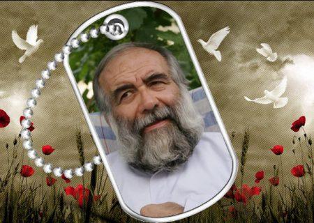 حاج احمد مؤمنی جانباز ۷۰ درصد دفاع مقدس به خیل شهدا پیوست