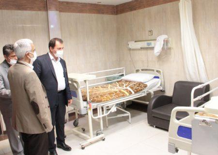 بیمارستان امام خمینی (ره) کرج ظرفیت ویژه ای برای خدمت رسانی به ایثارگران دارد
