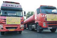 دو دستگاه تریلر آبرسان به سوسنگرد اعزام شدند