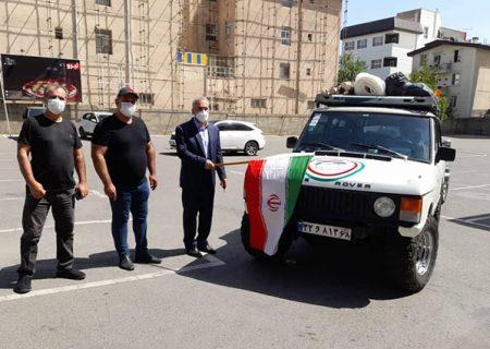 رالی خانوادگی خودروهای دو دیفرانسیل در البرز برگزار شد